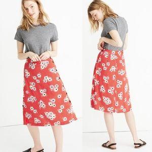 Madewell Daisy Side Button Skirt